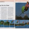 1990: The water skiing public was introduced to the Air Chair with this 2-page spread in WaterSki.