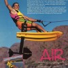 1990: Early Air Chair ad featuring Mike and Banana George Blair.