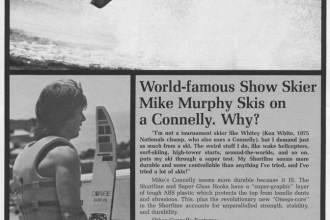 1976: Mike became the face of hot dog slalom skiing in the 1970s.
