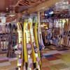 1983: Inside Mike's Ski Shop at the Windmill Resort, Parker Strip.