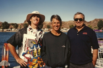 1994: A weekend to remember at the Air Chair Fly-In with Tony Klarich, Mike Murphy, and Herb O'Brien.