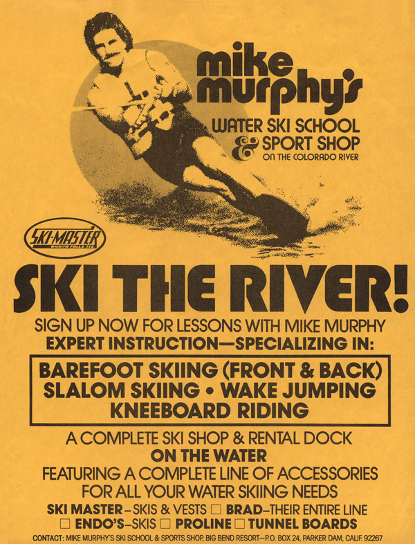 1981_Water_Ski_School_Ad_Mike_Murphy_Colorado_River